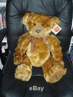 2. RUSSELL BERRIE HANLEY 2004 LIMITED EDITION BEAR 1455 of 5000 MINT COND