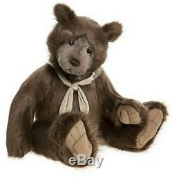 Aldwyn 34 Inch HUGE Plush Charlie Bears by Isabelle Lee Plush Limited Edition