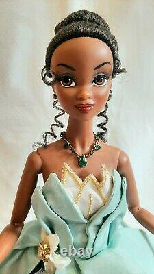 Ashton Drake Integrity Toys Limited Edition Tiana Doll Petal Gown