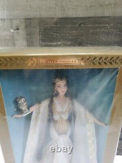 BARBIE COLLECTIBLES LIMITED EDITION GODDESS OF WISDOM BARBIE- NIB With PLASTIC
