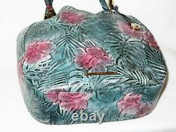 BRAHMIN Retired Limited Edition SOLANDRA FLORAL HIBISCUS MARIANNA and WALLET NWT