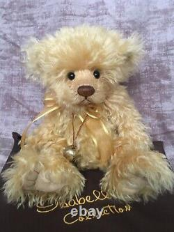 CHARLIE BEARS EASTON 2008 ISABELLE COLLECTION LTD EDITION BEAR rare & retired