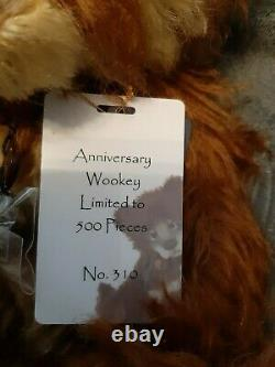 Charlie Bear Anniversary Wookey SJ5477 Limited Edition (500 pieces Worldwide)