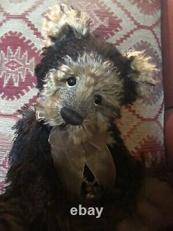 Charlie Bear Conker 19brown mohair Ltd Edition Isabelle Collection