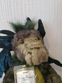 Charlie Bear Grumbleweed Dragon Queens Beasts Retired Rare Limited Edition