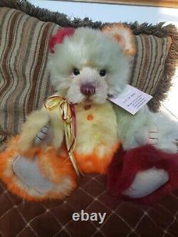 Charlie Bear Ice Lolly Limited Edition Retired Plumo