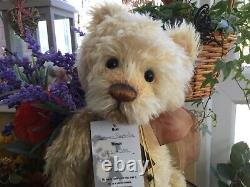 Charlie Bear LEMON POPSICLE MOHAIR limited edition 133/350 with tags
