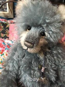 Charlie Bear NAPOLEON Mohair limited edition standing bear 16ins 2015