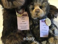 Charlie Bears 2010, Wurve You & Snuggle, Limited Edition, Retired