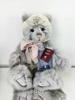 Charlie Bears 2018 Plumo Year Bear CB181820A Ltd. Edition Tags & Bag 20 NWT