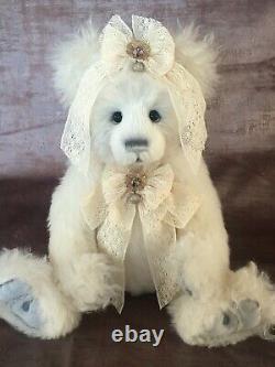 Charlie Bears 2021 Mohair Year Bear Isabelle Lee Limited Edition Bear Vhtf