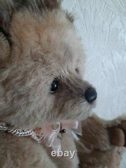 Charlie Bears Alpaca/Mohair Hedgehog Flora. Limited Edition
