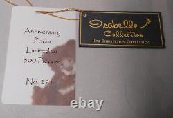 Charlie Bears Anniversary POEM Isabelle Lee Mohair Limited Edition 500 RETIRED