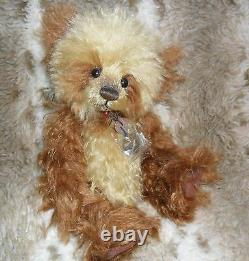 Charlie Bears Anniversary WOOKEY Limited Edition Mohair