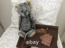 Charlie Bears Cheese Mouse 11 Limited Edition, Rare And Retired! 2011 Mohair