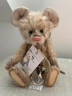 Charlie Bears Cracker The Mouse Rare And Retired 2011 Collection Limited Edition