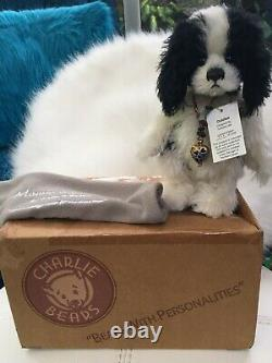 Charlie Bears Diddles Minimo Spaniel Limited Edition In Original Box