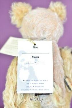 Charlie Bears Felicity Isabelle Collection Limited Edition Retired Tagged