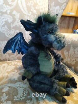 Charlie Bears Grumbleweed Dragon Ltd Edition 2000