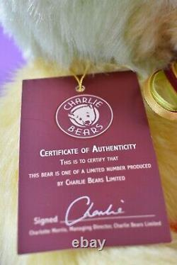 Charlie Bears Ice Lolly Limited Edition Isabelle Lee Designed Tagged