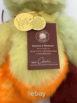 Charlie Bears Ice Lolly Plumo Limited Edition Rare Retired QVC Special 1094/4000