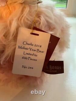 Charlie Bears Isabelle Lee Charlie Mohair Year Bear 2018 Limited Edition