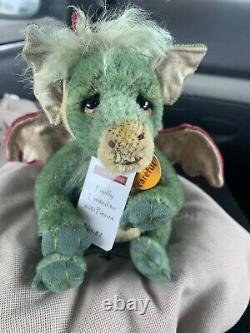 Charlie Bears Minimo Firefly Dragon Limited Edition Retired Mohair