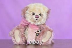 Charlie Bears Raspberry Pavlova Minimo Limited Edition Retired Tagged