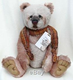 Charlie Bears Retired Limited Edition 2012 Alpaca Teddy Bear Solitaire