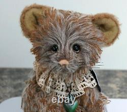 Charlie Bears Retired Limited Edition 2019 Isabelle Collection Feta Mouse