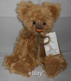 Charlie Bears TOGGLE Isabelle Lee 2009 Mohair Limited Edition ONLY 300 RARE HTF
