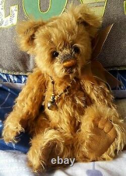 Charlie Bears Toggle 2009 Isabelle Mohair Ltd Edition of 300 very rare