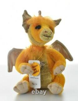 Charlie Bears Vesta Minimo Dragon Limited Edition Retired & Tagged