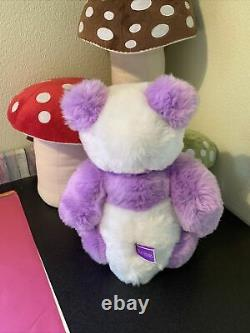 Charlie Bears Violet Limited Edition QVC Bear. Tags 323 /2000. Free P&P