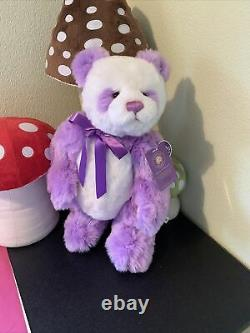 Charlie Bears Violet Limited Edition QVC Bear. Tags 97/2000. Free P&P