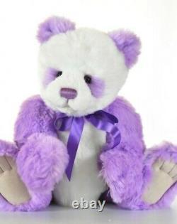 Charlie Bears Violet Retired & Tagged Limited Edition Isabelle Lee Designed
