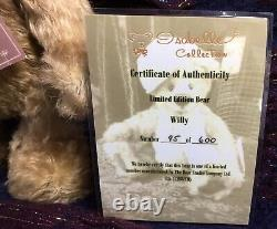 Charlie Bears/isabelle Lee Collection/ltd Edition Of 600/ Willy/retired & Rare