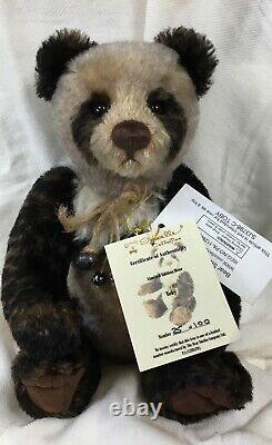 Charlie Bears/isobelle Lee/limited Edition Of 100/toby/mohair/ Panda/retired