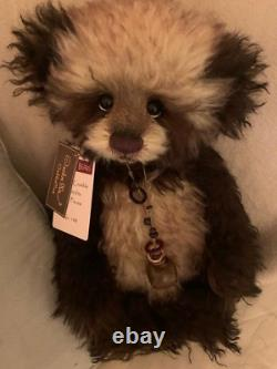 Charlie bear Cookie Crumble Isabelle mohair Ltd edition