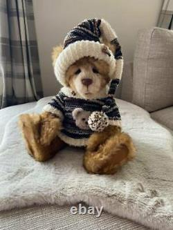 Charlie bears mohair hat bear CJ Isabelle Lee Limited Edition retired
