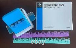 Creative Memories Decorative Arcs Border Punch Limited Edition RARE Retired