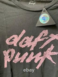 Daft Punk Official Limited Edition Shirt Medium New Sold Out Retired