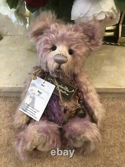 EXTREMELY RARE Charlie Bears Liberty Mohair Bear LTD Edition 132/250 2009 Retire