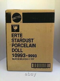 Erte Stardust Barbie 1st in Series Limited Edition Porcelain Doll Mattel 10993
