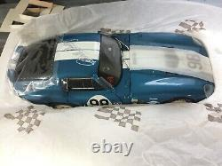 Exoto 1965 Ford Shelby Cobra Daytona Signature Edition Rlg18009 Retired New Mint