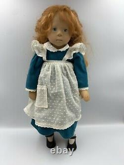 GOTZ Sylvia Natterer 89 DOLL 18 Red Hair Blue Eyes SIGNED LIMITED EDITION