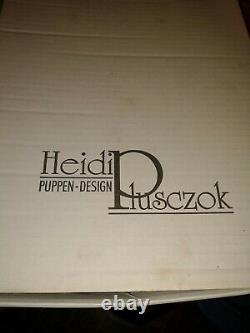 Heidi Plusczok Dolls Natasha 80-75 Limited Edition Doll original Box Tags Stand