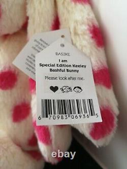 Jellycat Special Edition Keeley New with tags bashful Bunny Rabbit Soft Toy