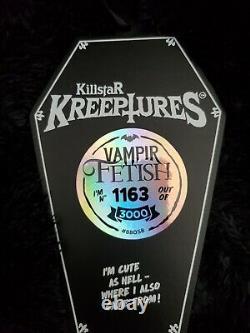 Killstar Vampir Fetish Kreepture #1163 Black Bat SOLD OUT Limited Edition NWT