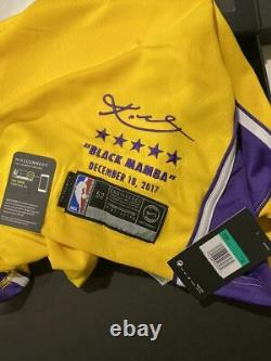Kobe Bryant Retirement Nike Boxed Limited Edition Lakers Jersey #8 NWT & Box